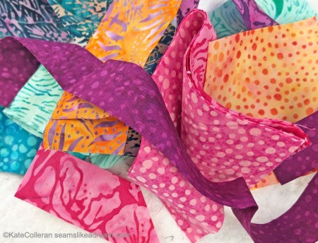 A Quilt Tutorial featured by top US quilting blog and shop Seams Like a Dream Quilt Designs, explains using scraps.