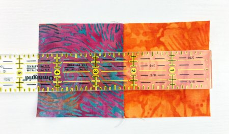Top US quilting blog and shop, Seams Like a Dream Quilt Designs, shares tips for sewing rows in the quilt along, Lighthouse Steps!