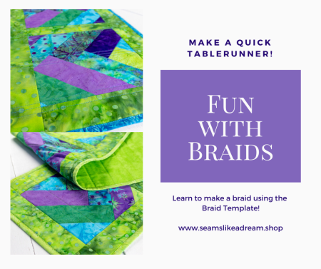 Top US quilting blog and shop, Seams Like a Dream Quilt Designs, shares classes offered at the Vermont Quilt Festival!