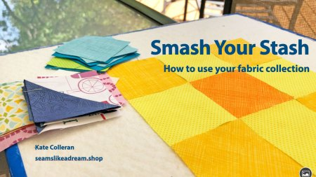 Top US quilting blog and shop, Seams Like a Dream Quilt Designs, shares about quilt stashes and more! Click here!