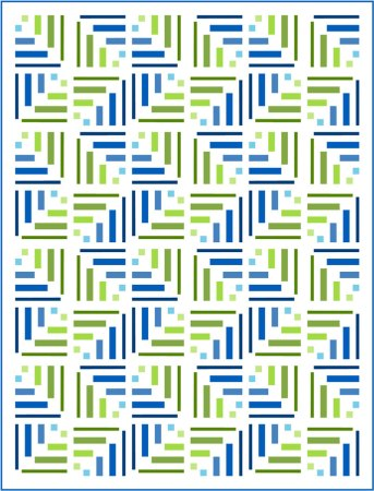 Top US quilting blog and shop, Seams Like a Dream Quilt Designs, shares about yardage and the zig zag setting!