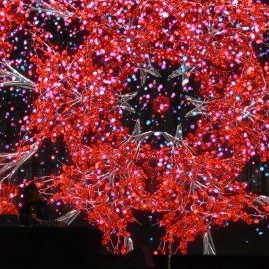Tokimonsta Visuals Red
