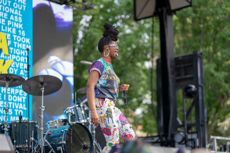 Tierra Whack Performing at Sol Blume Festival