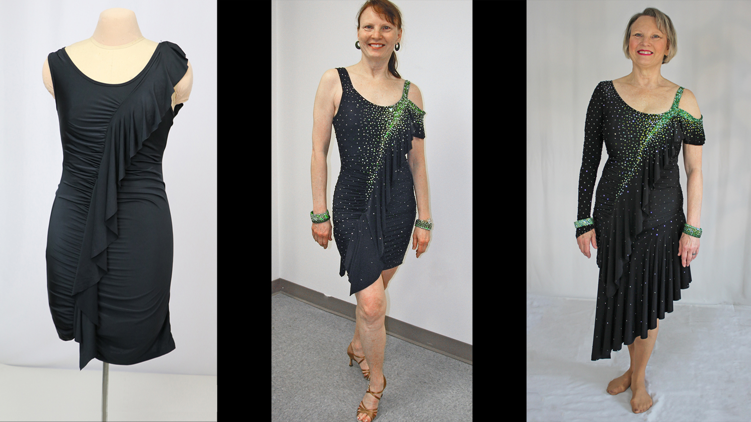 Three Looks For A Latin Or Skate Dress