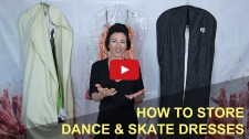 Store your Dancesport, Country & Skater dress so it looks good for years