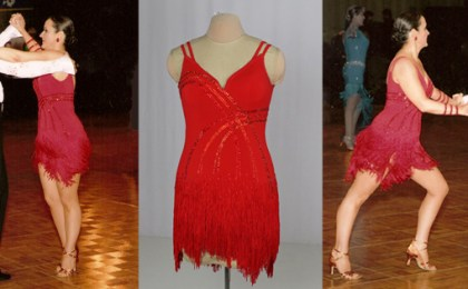 4 ways to look taller or thinner in your Dancesport, Country or Skate dress