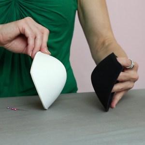 bra cups, bra shells, push-up pads for competition Dancesport, Ballroom, Latin, Country, Skate dress