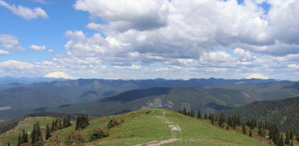 overcome setbacks - Mt St Helens, Mt Rainier, Mt Adams