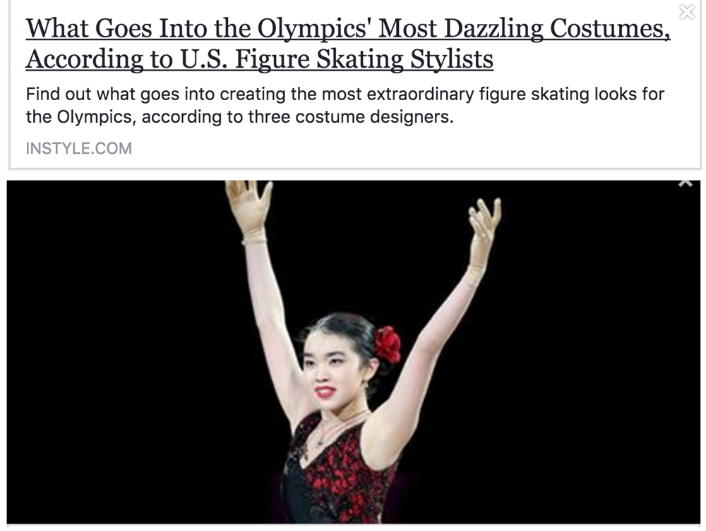 What Goes Into Making Figure Skating Costumes For The Olympics?