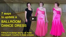 lace ballroom dance dress, U Can Dance Studio