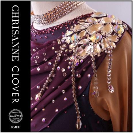 rhinestone ribbon fringe, imitation beaded fringe, chrisanne clover