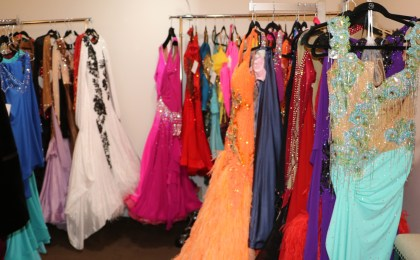 dance dress couture inventory, dance dress consignment shop