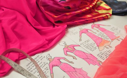 fabric stores for ballroom dancing costumes, figure skating dresses