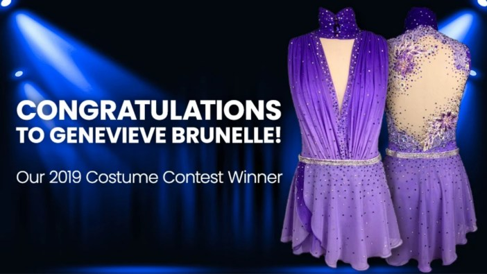 genevieve brunelle is winner of make you own dance costume 2019 costume contest