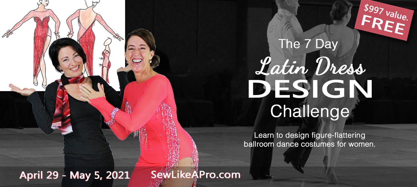 7-Day Latin Dance Dress Design Challenge