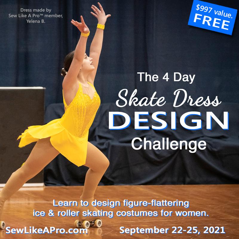 adult artistic roller skating dress design challenge 2021