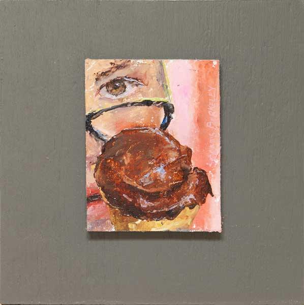 Eyeing-Chocolate-Sorbet-Painting-Seamus-Berkeley