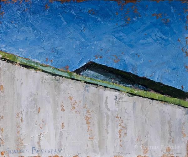 """Halves, 8"""" x 12"""", oil on canvas"""