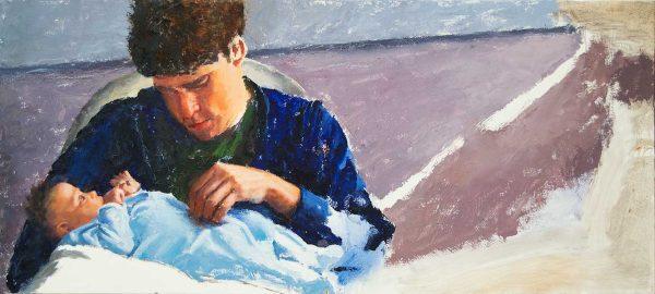 Derrek-Josephine-Progress-04-Painting-Seamus-Berkeley