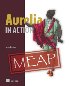 Aurelia in Action book cover