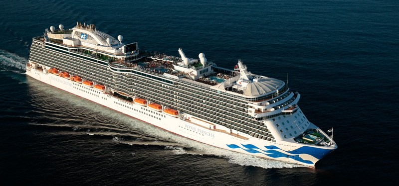 We're Sailing on the Royal Princess November 17, 2018. Join Us!