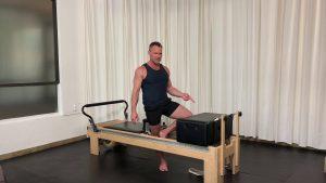 Forearm and shin pressure - Progressive Pilates Workshop