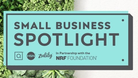 Small Business Spotlight Logo from NRF and