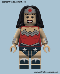 Lego Wonder Woman - New 52