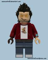 Lego Travis Touchdown
