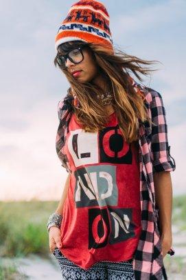 Boho beach girl-1