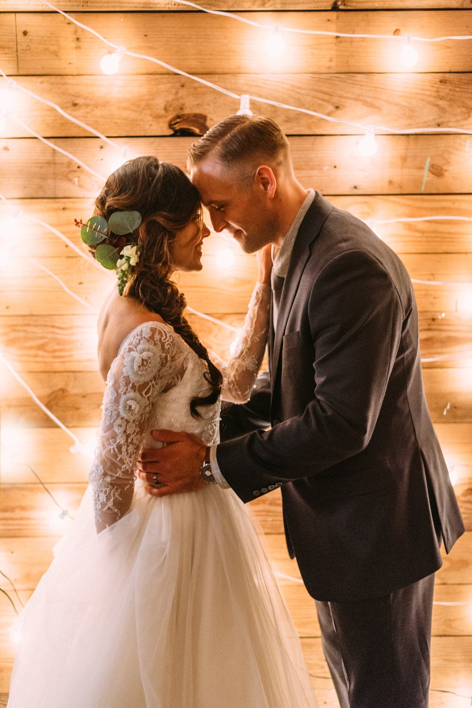 Romantic Portland Cabin Wedding