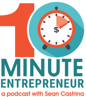 ten minute entrepreneur podcast logo