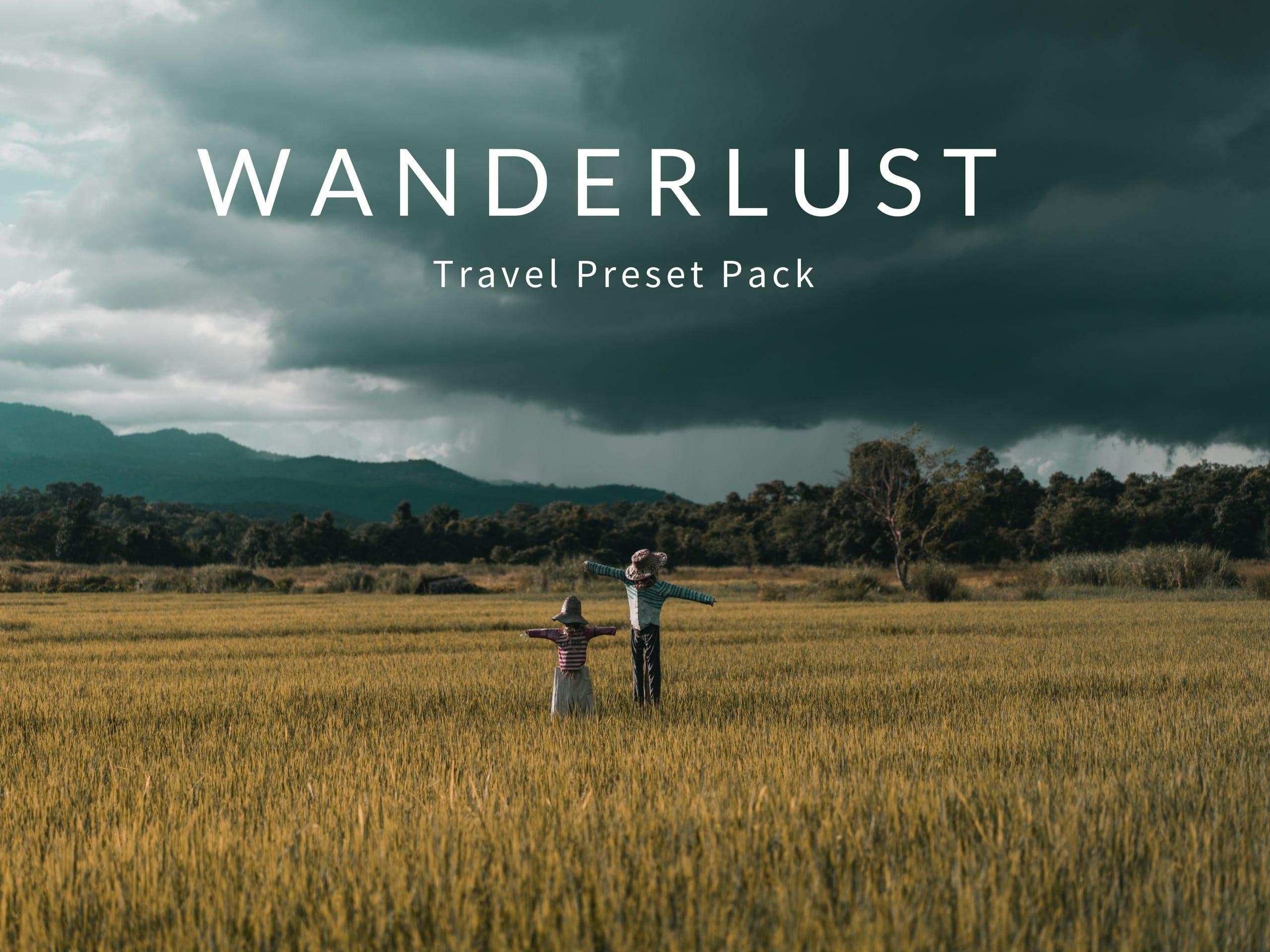 wanderlust preset pack