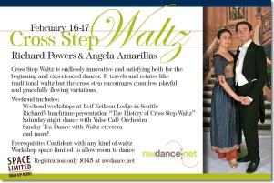 Cross Step Waltz Weekend (reverse)