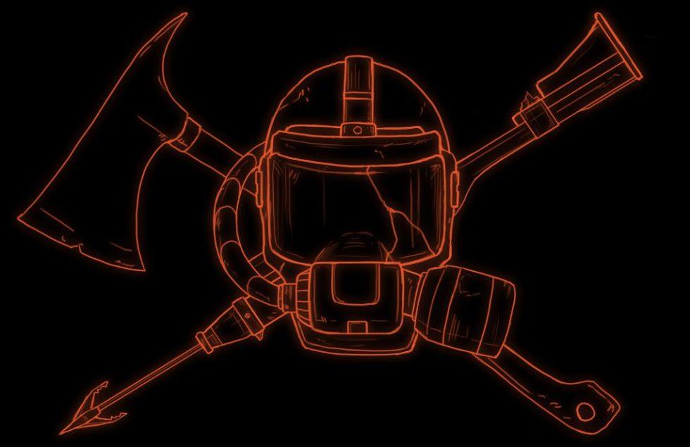 Tabletop RPG Survive the Night Aqualung logo.