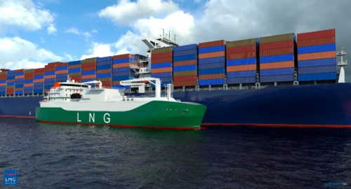 MOL Signs Deal for Long-term Charter Contract of LNG Bunkering