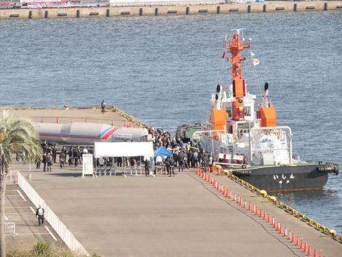 Bunkering LNG fuel Nagoya Port MOL