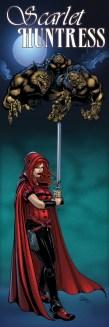Scarlet Huntress banner image, All Art Sean Forney