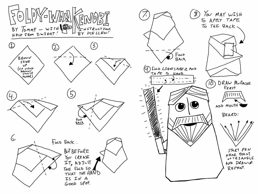 Origami Lukeminecraft Amp More