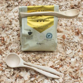 Bag clip coffee scoop