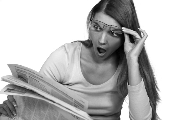 An example of how most Canadians don't react to stories about public policy. (Photograph by Shutterstock.com)