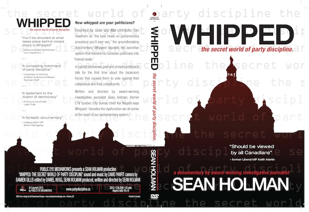 You can now enjoy Whipped on DVD! (Graphic by VICTOR CRAPNELL, Art Department Design)