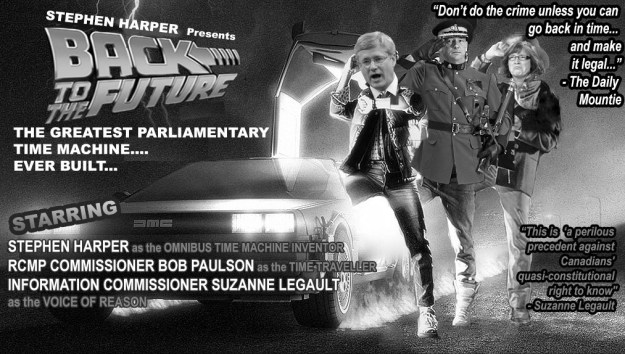 The BC Freedom of Information and Privacy Association takes a satirical shot at the Harper government. (Graphic by BC Freedom of Information and Privacy Association)