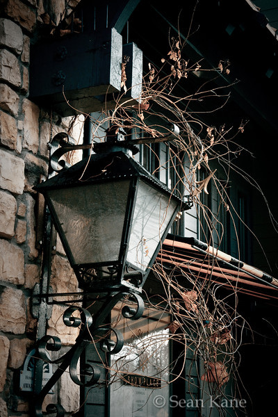 Lamp and Awning