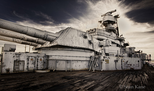 Turret, Tower & Bridge - USS Iowa BB-61