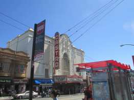 Castro Theatre and 24 Divisadero stop