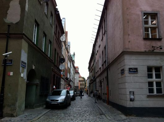 Walking through the Old Town