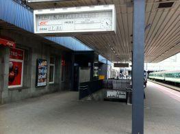 Leaving Poznan Station