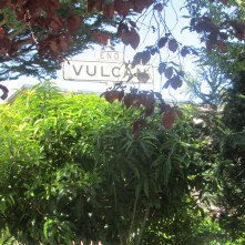 The top of the Vulcan Street steps