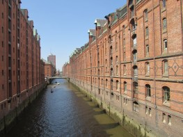 Another view of the Speicherstadt